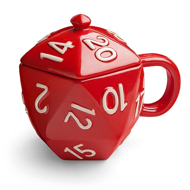 d20 dice mug