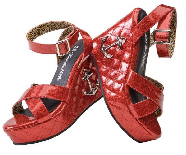 red anchor wedge