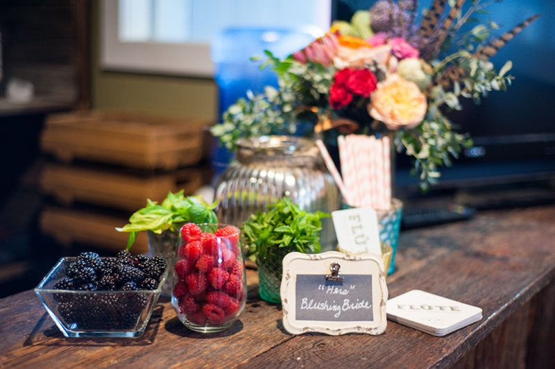Beards, brews, and bacon wedding styled shoot as seen on @offbeatbride