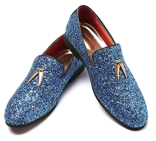 The world's most perfect something blue shoes