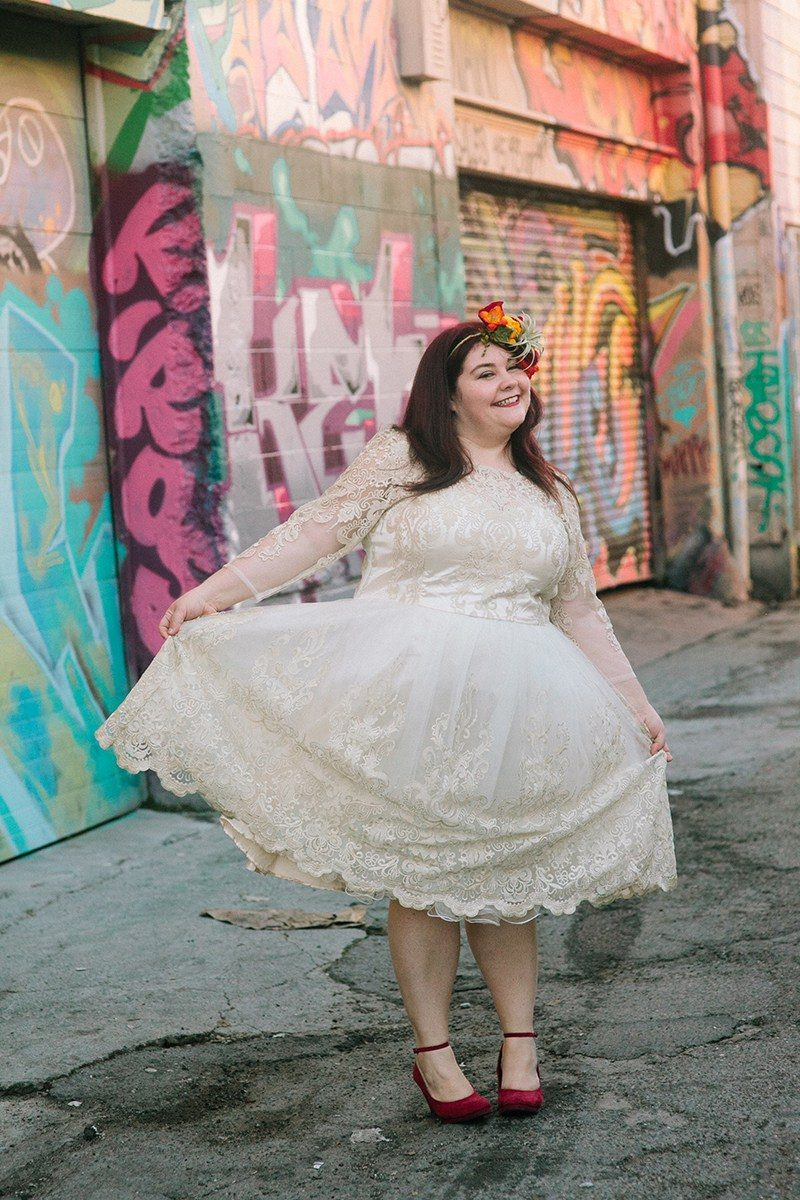 Some of our very favorite long sleeve wedding dresses as seen on @offbeatbride