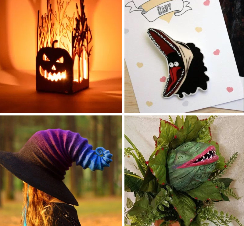 These are the weirdest and best Halloween wedding items we could find