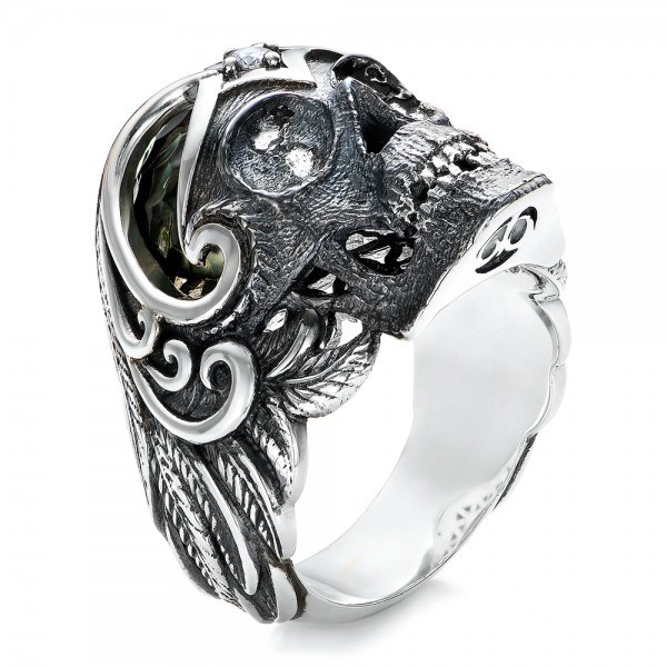 Slytherin engagement rings