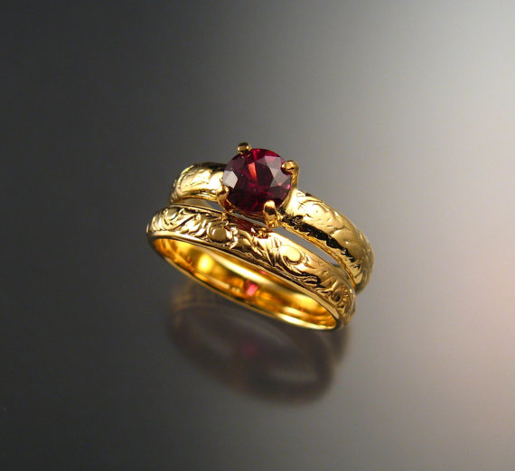 Harry Potter wedding rings for all four houses