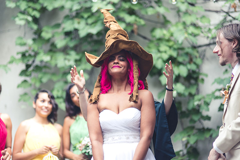 From Hogwarts to NYC: a Brooklyn Harry Potter wedding