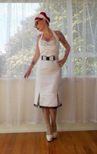 PixiePocket Rockabilly 1950s wedding dresses on offbeat bride (7)