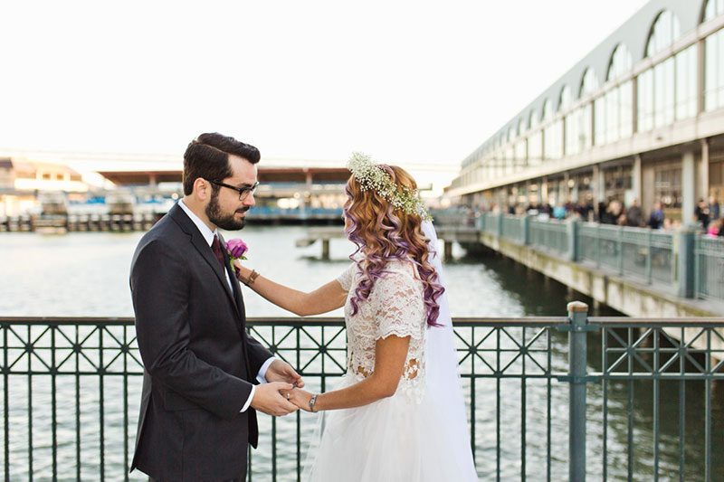 We're heart eyes over this fetching San Francisco wedding in Golden Gate Park