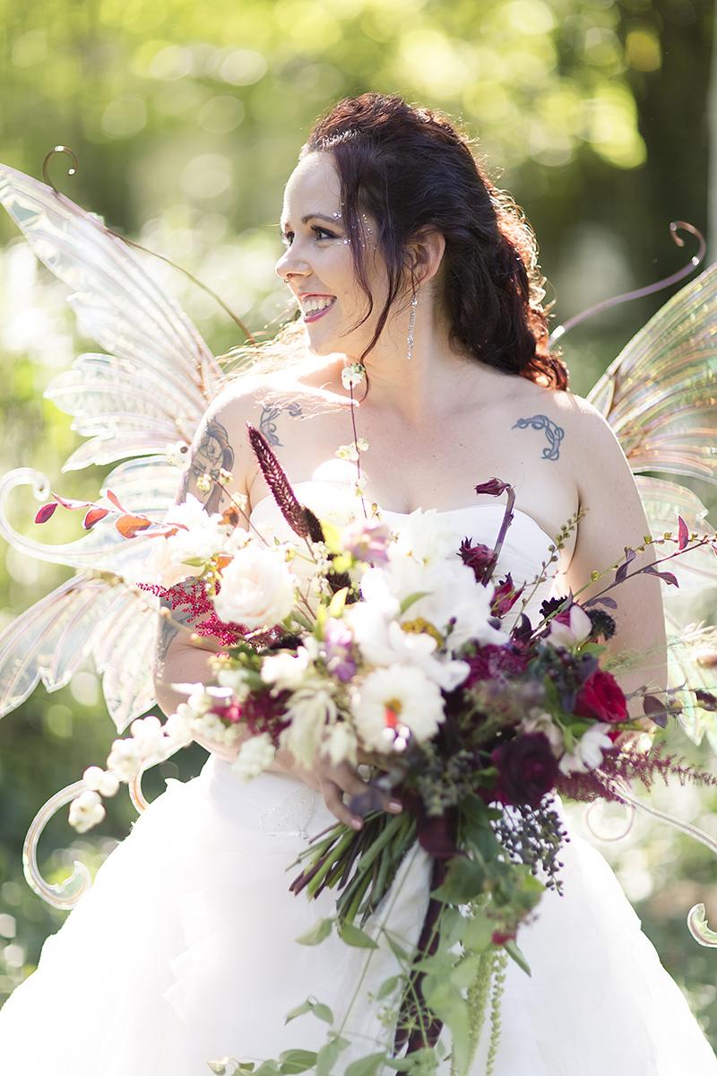 Fairy wedding fashion