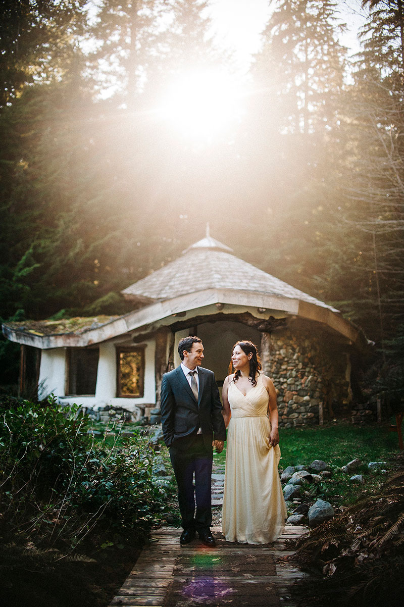 This deeply meaningful wedding combined native vows and Easter eggs