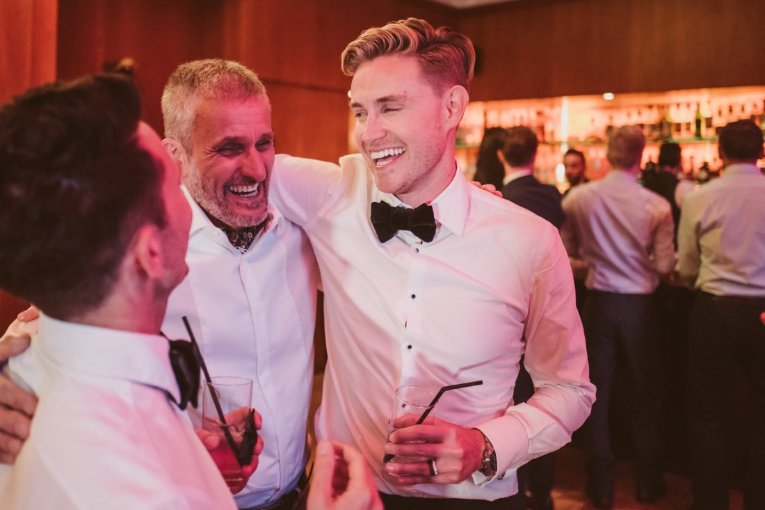 Get ready to weep at the emotional speeches from these two stunning grooms