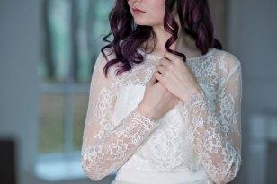 Primrose lace topper by Wardrobe By Dulcinea
