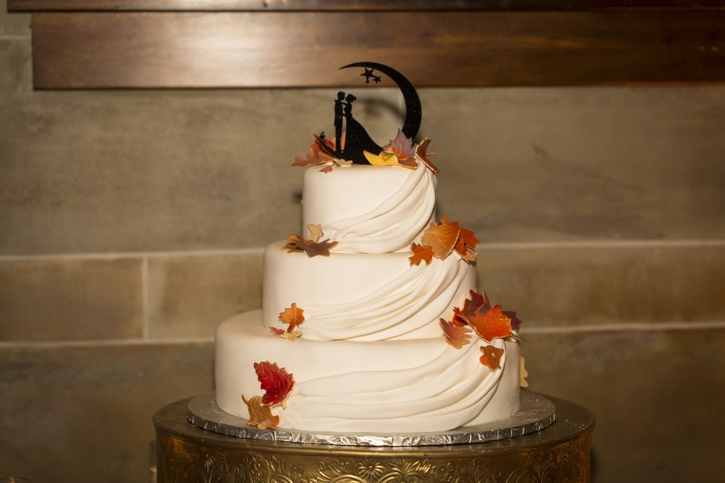 Tradition with an edge is the key at this fall wedding in Connecticut (with a bit of horror mixed in!)
