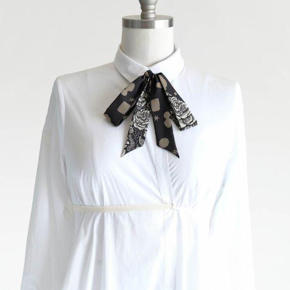 offbeat floral ties
