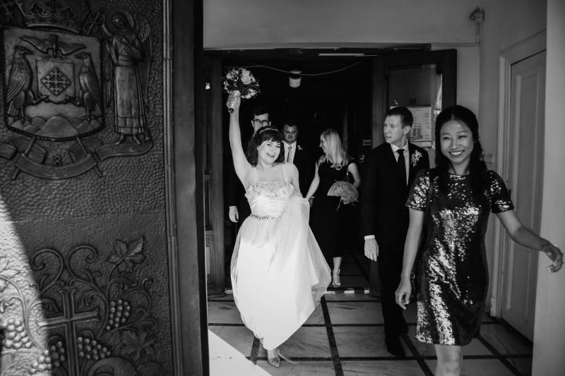 Traditional Romanian Orthodox meets LA party at this art deco wedding