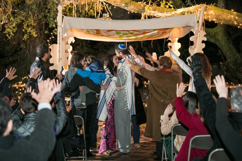 A creative wedding at Zorthian Ranch (with a handmade dress!)