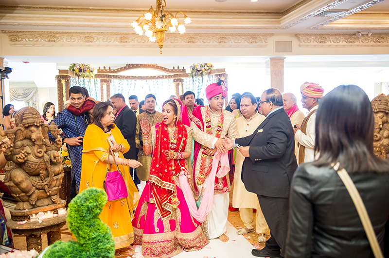 A totally gorgeous Indian NJ wedding that took our breath away