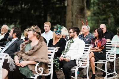 An enchanted forest wedding