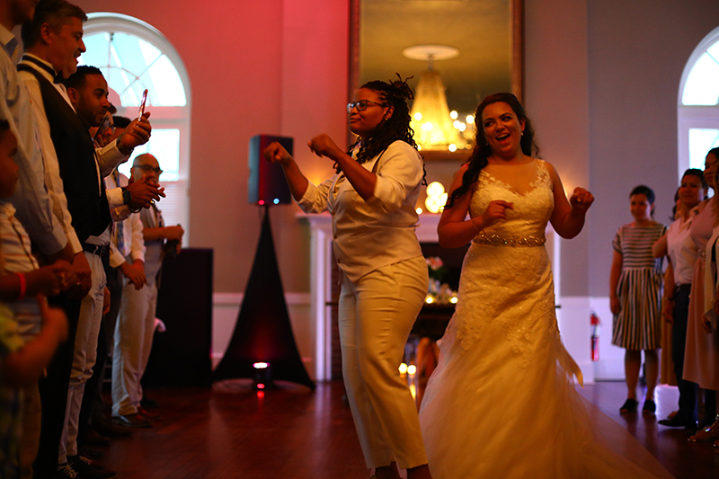 Bookworms and gamer girls marry in style in New York
