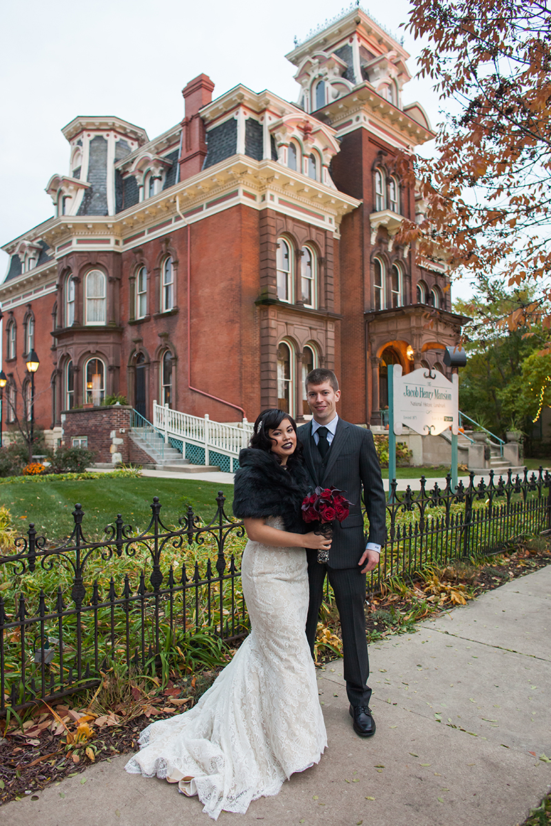 Haunted romance: a moody Halloween evening of medical and mortuary science