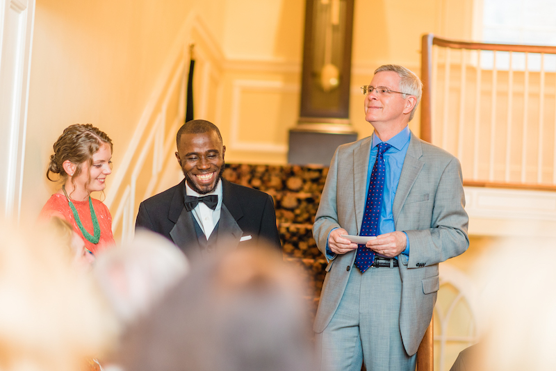 Africa meets the U.S. at this Ghanaian gorgeous wedding reception in Maryland