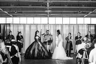 Disney villains meet classic heroes at this high fantasy wedding
