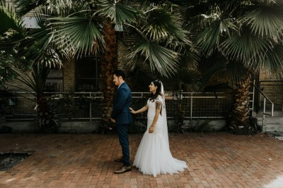 A ZaZa Gardens wedding that beautifully merged two cultures & families