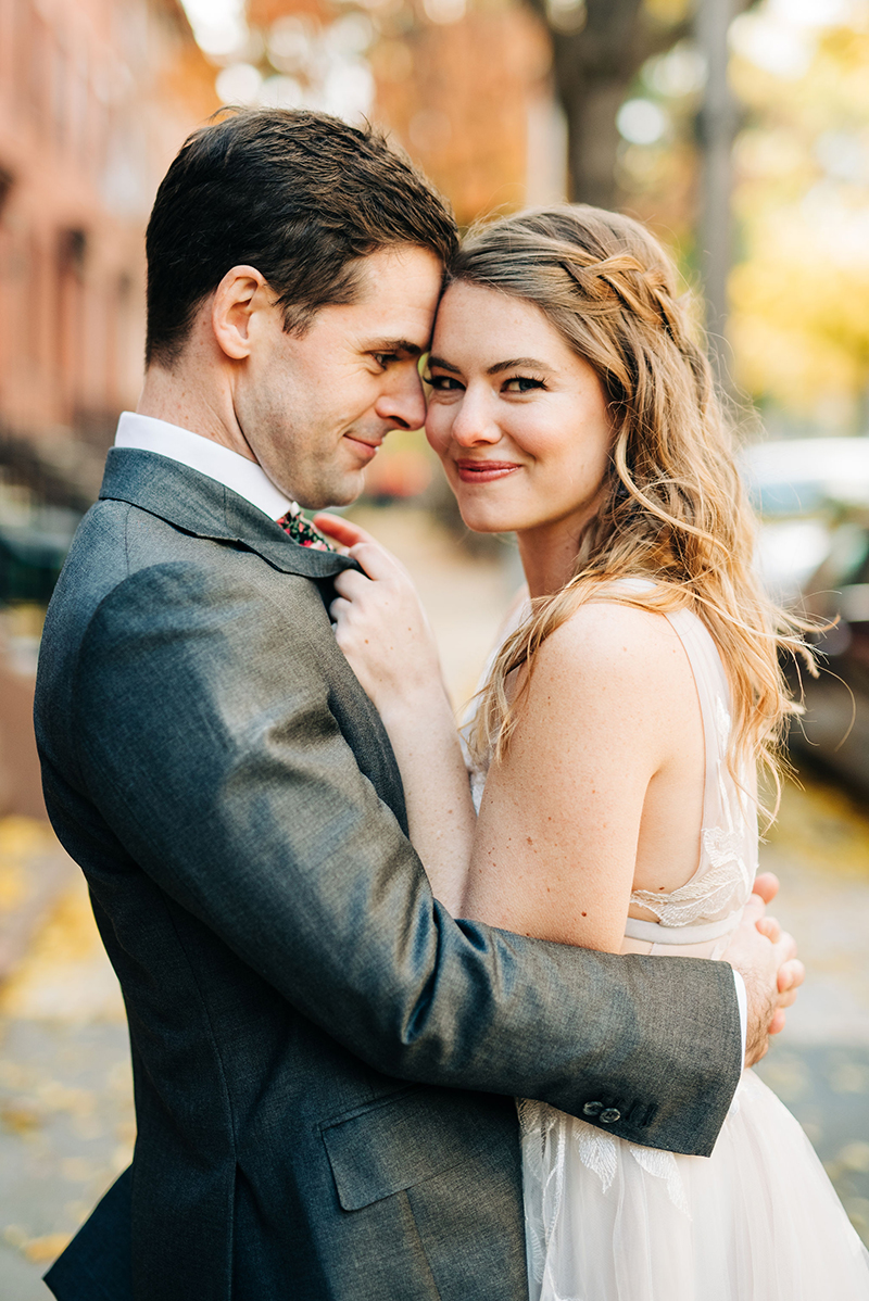 This Brooklyn art museum wedding was so stunning, I may have cried