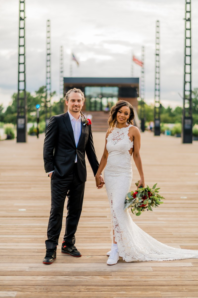 Get your all-access pass to this music & dance wedding (with the drummer of the band SOJA!)