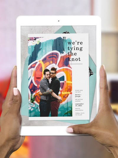 Here's how to save money & the environment with gorgeous digital wedding invitations (with tracking, RSVPs, and more!)