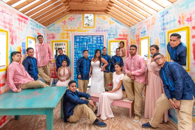 This wedding blends tradition with whimsy at The New Children's Museum in San Diego