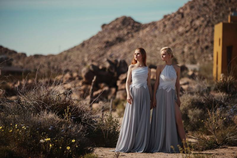 Bridesmaids dresses: Cocomelody 2020 Bridal Party Collection