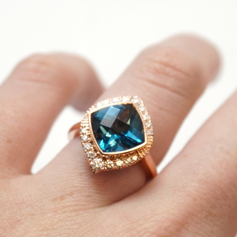 15 of the most extra and RAD engagement rings we've ever seen