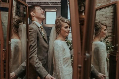 Unposed, super creative, & totally inclusive: here's why this Chicago wedding photographer is a dream team