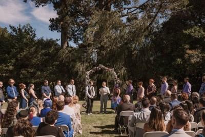 Count the fandoms at this elegant & crafty super-nerd puzzlefest wedding
