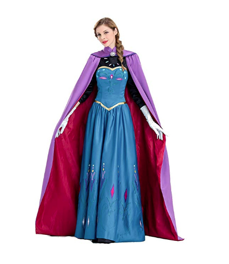 Disney princess Frozen Anna dresses for your Halloween wedding