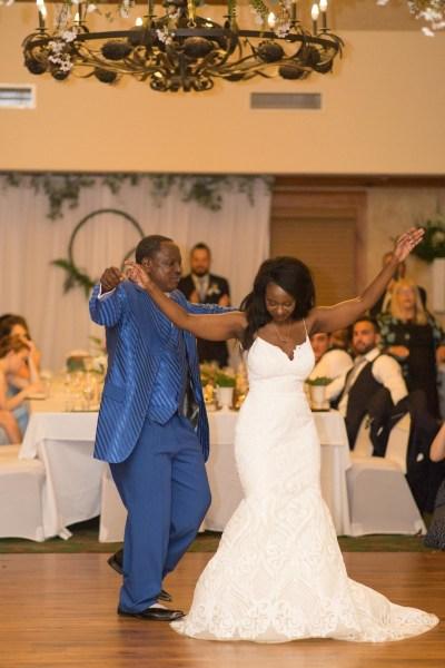 A greenery filled Tanzanian-inspired Northern Michigan wedding