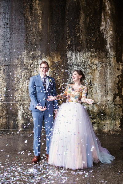 A whimsical & intimate pop culture wedding in Chicago? As you wish