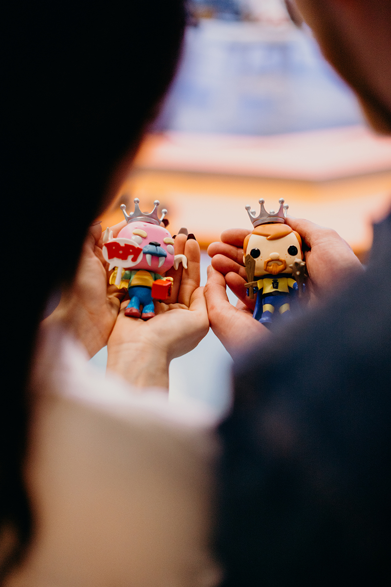 Funko fans: get ready to lose your cool when you see this Funko headquarters engagement shoot