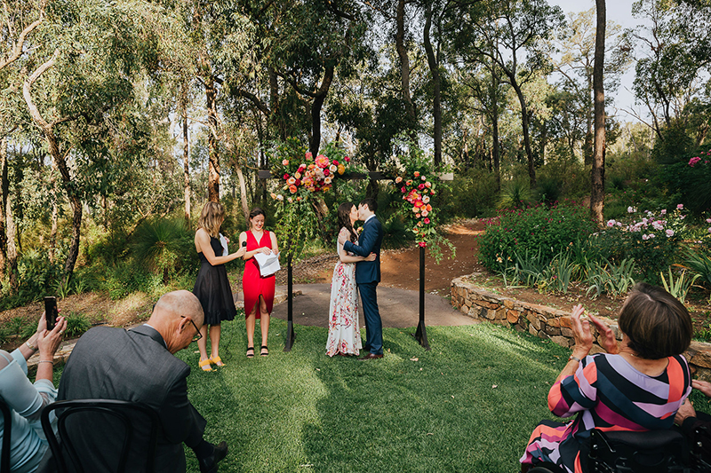 It was all about favorite foods & favorite people at this Perth wedding
