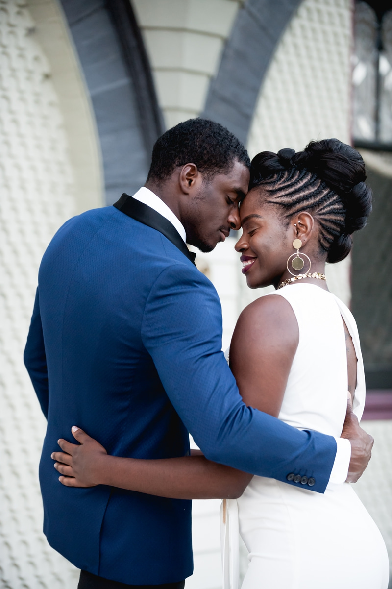 Janelle Monáe-inspired Dandy Queen wedding inspiration that's dapper and stylish as hell