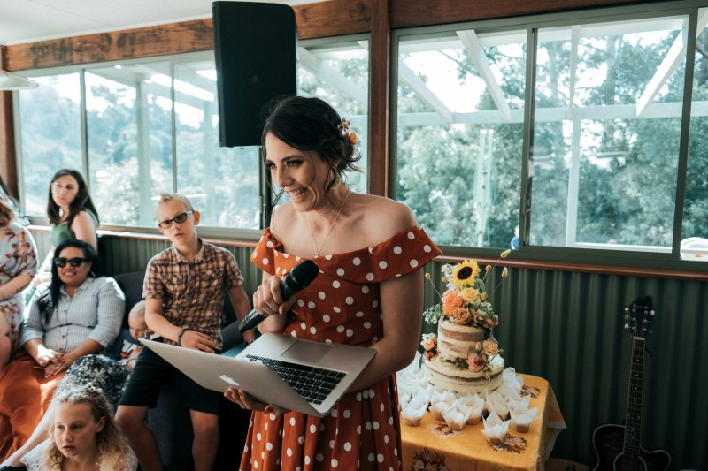This New South Wales wedding was a whimsical DIYed floral celebration