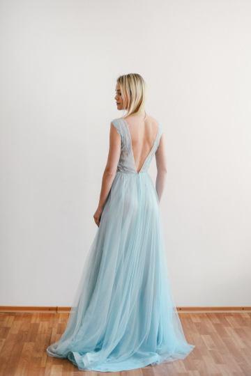 MywonyBridal light blue wedding dress