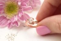 vinnyandcharles rosecut leaf engagement ring