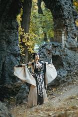 DressArtMystery gothic fantasy dress on offbeat bride