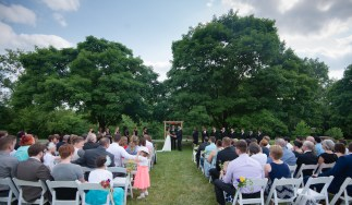 Atypical Events outdoor ceremony