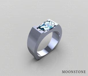 goth wedding rings by Sapphire Studios Design on offbeat bride (5)