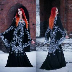 Gothic wedding dresses by WulgariaStore on Offbeat Bride (3)