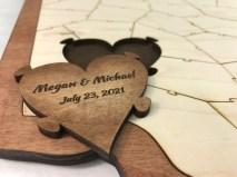 Custom Personalized Piece For Wooden Puzzles by Havoly