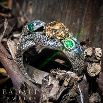 Badali-Jewelry-07-Lord-Of-The-Rings-Utah-Geek-Jewelry-Book-Jewelry-Bookish-Aragorn-Barahir-Snake-Ring