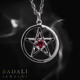 Badali-Jewelry-10-Dresden-Files-Utah-Geek-Jewelry-Book-Jewellry-Bookish-Harry-Pentacle-Pentagram-Jim-Butcher